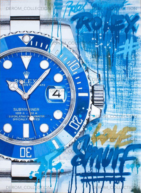 Rolex-smurf-art